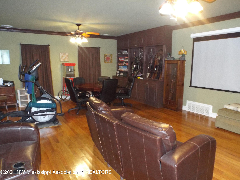 Den movie room game room