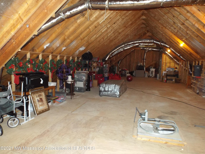 Huge attic