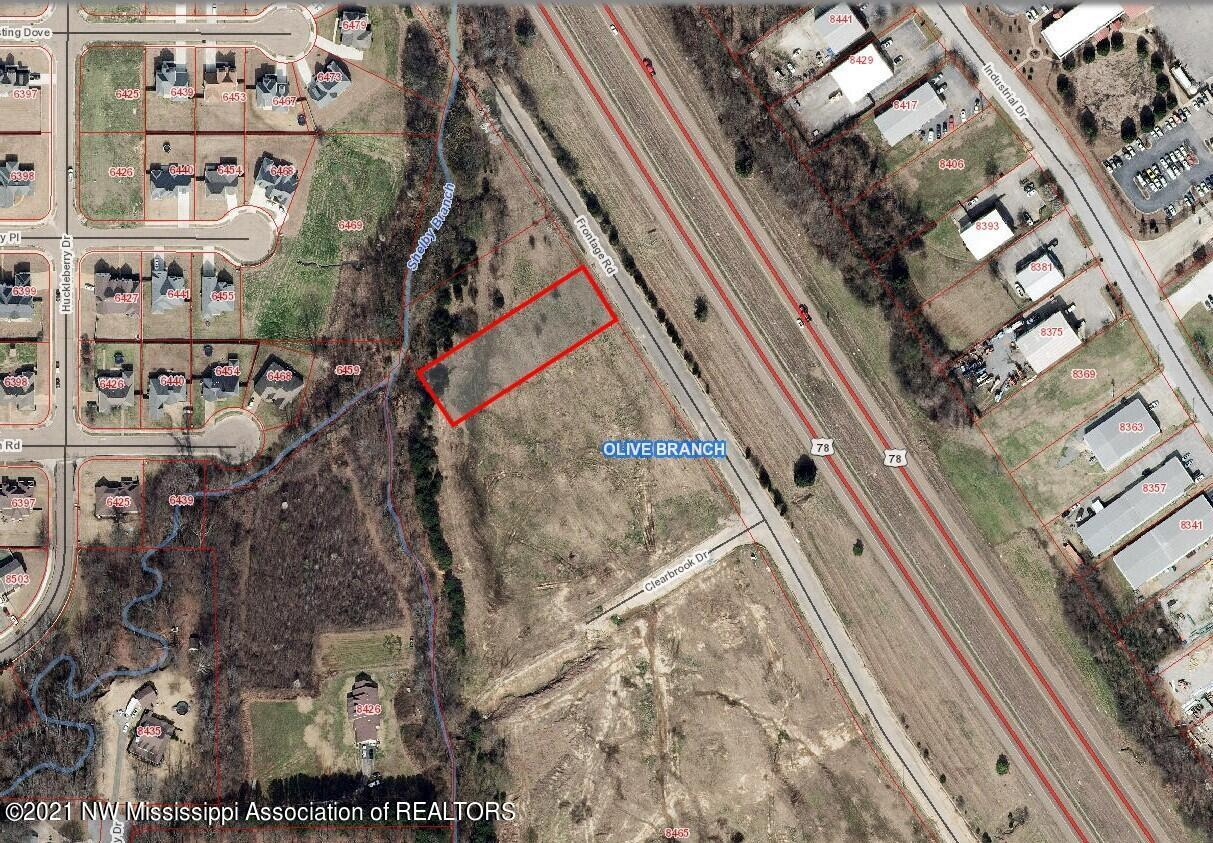 Aerial - 0.72 Ac Frontage Road