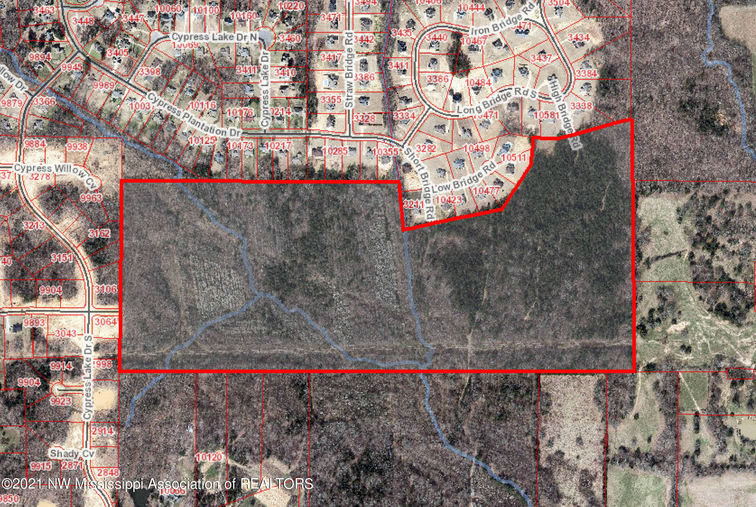 0 Woolsey Rd - GIS map