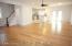 Open Floor Plan w/ Hardwood Floors