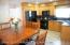Beautiful Large Bright & Airy Eat in Kitchen w/ Pantry, Door to Access Deck & Yard