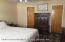 Spacious master bedroom with two closets and on-suite 3/4 bath.