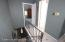 staircase/hallway to the bedroom floor...3 large bedrooms..new full bath..clean as can be..