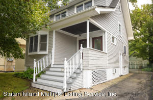 Charming open floor layout in this charming Colonial with full basement and attic storage.