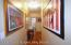 hallway to2 bedrooms & 2 baths