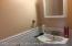 1/2 Bath on 1/fl