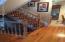 Hardwood floor/rails