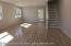 Beautiful open floor layout with new hardwood floors and high hat lights.