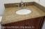 Vanity in full bath, top level. Bathroom 2 of 3
