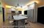The actual designed kitchen