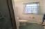 3/4 bath lower level