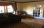 Formal Living Room w/ bow window & wood floors