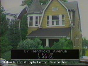 67 Hendricks Avenue, Staten Island, NY 10301