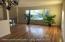 Gleaming, newly finished hard wood floors