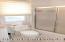 Large Full Bath on 2nd Floor with Radiant Heat