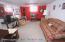 ground floor family rm, full bath , breakfast area, office, garage & side door