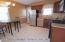 Eat In kitchen with Granite Counters- Door to yard