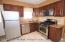 Eat In Kitchen with Granite Counters & Stainless Steel Appliances