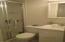 3/4 bath in Basement