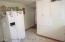 Gorgeous New Kitchen w/ Quartz Counter Tops & Custom Marble Herringbone Backsplash.