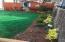Beautifully Landscaped Side Yard