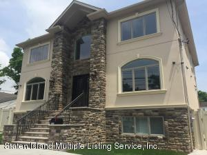 Outstanding One Family Center Hall Colonial New Construction
