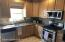 New stainless steel LG appliances.