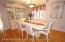 formal dining Room , hardwood floors, central air