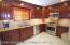 Newer EIK with Recess Lights, SS Steel Appliances & matching Granite Table