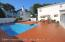 Inground heated Pool , entertainers yard