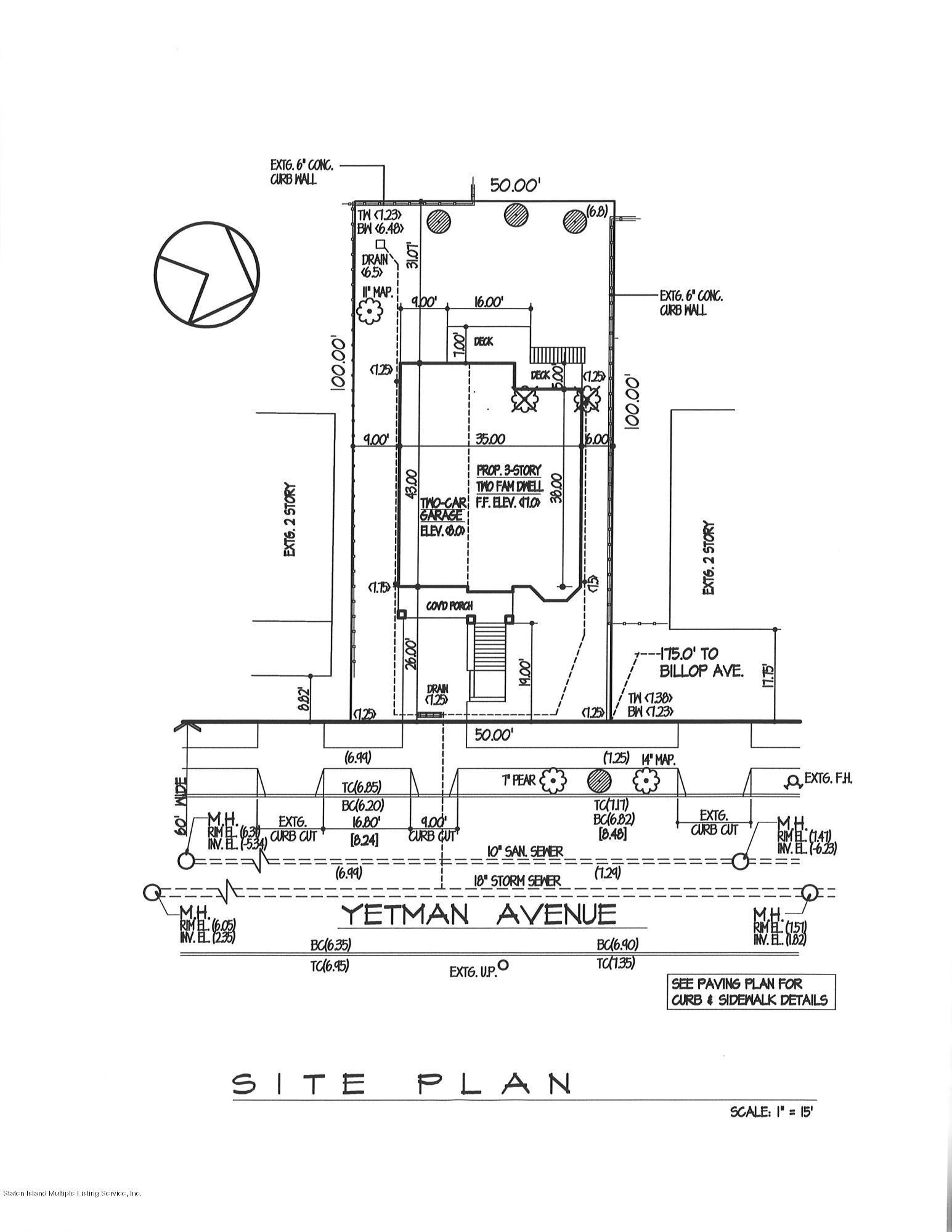 Single Family - Detached 678 Yetman Avenue  Staten Island, NY 10307, MLS-1121503-32