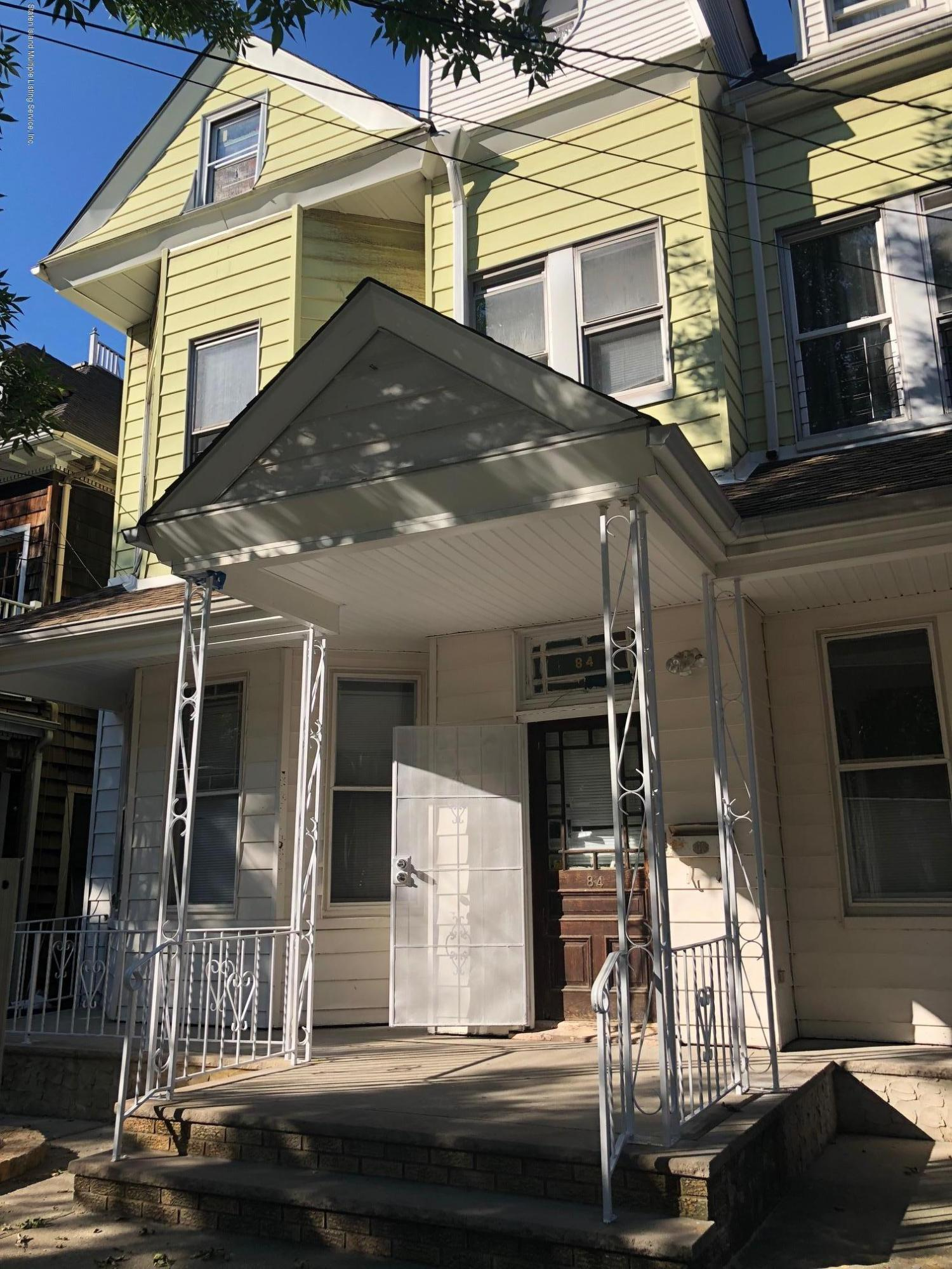 Two Family - Detached in St. George - 84 Westervelt Avenue  Staten Island, NY 10301