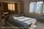 Master bedroom with private 3/4 bath
