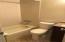 Full bath in apartment