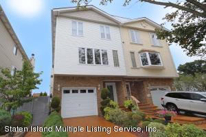 1 family Semi with many possibilities...basement,1st fl w/side door,bedroom,family rm,3/4 bath..2nd fl-Lr,Dr,EIK, Family rm,1/2 bath- 3rd level-master Bedrm,3rd & 4th bedrm, xlg full bath-Garage as well