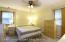 Master bedroom 14 x 13.5. Has private 3/4 bathroom.