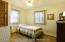 3rd bedroom, lots of closet & storage 11.5 X 10