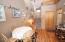 leads to bonus loft space/w closets Could be used as a 2nd BR