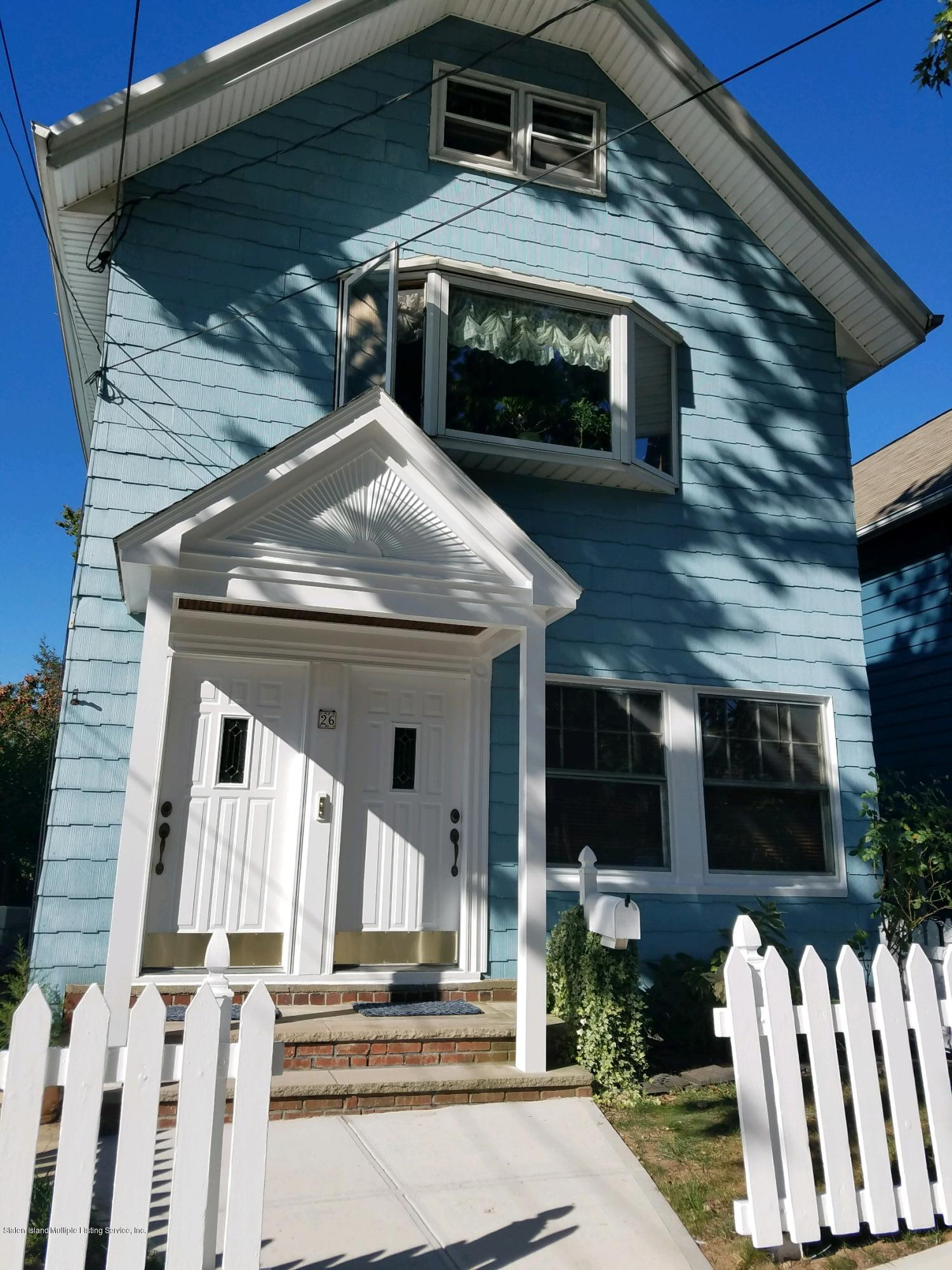 Two Family - Detached in Castletn Corner - 26 Winthrop Place  Staten Island, NY 10314