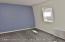 Freshly painted Master bedroom