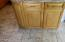 Kitchen island with storage cabinets