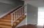 Steps to 2nd floor bedrooms