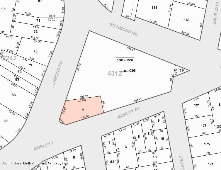 Land/Lots 3155 Morley Ave/3196 Richmond Rd   Staten Island, NY 10306, MLS-1123273-4