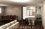 This is a digital photo for renovations done with open concept (see 5th picture, halfway entry facing kitchen)