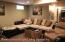 Basement view 2 living room area