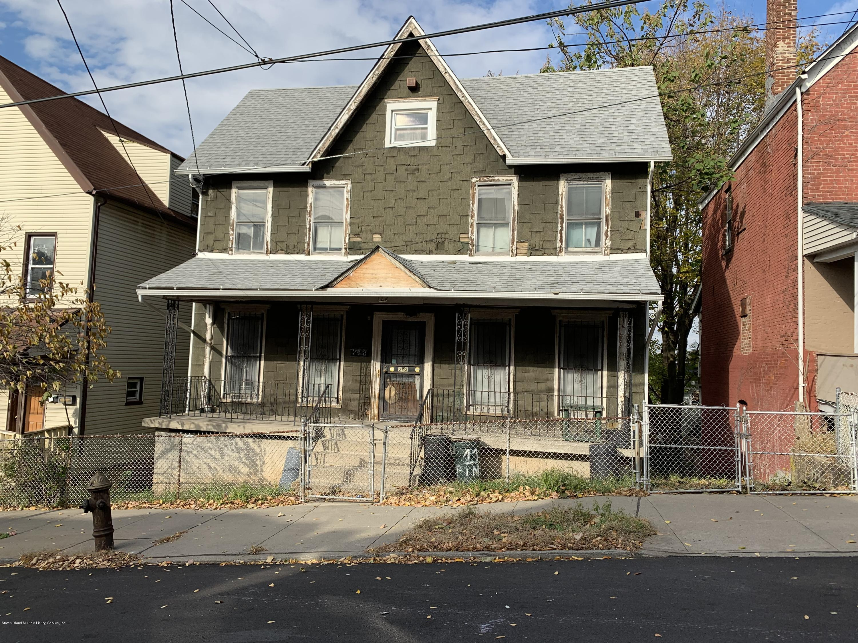 Two Family - Detached in New Brighton - 203 Benziger Avenue  Staten Island, NY 10301