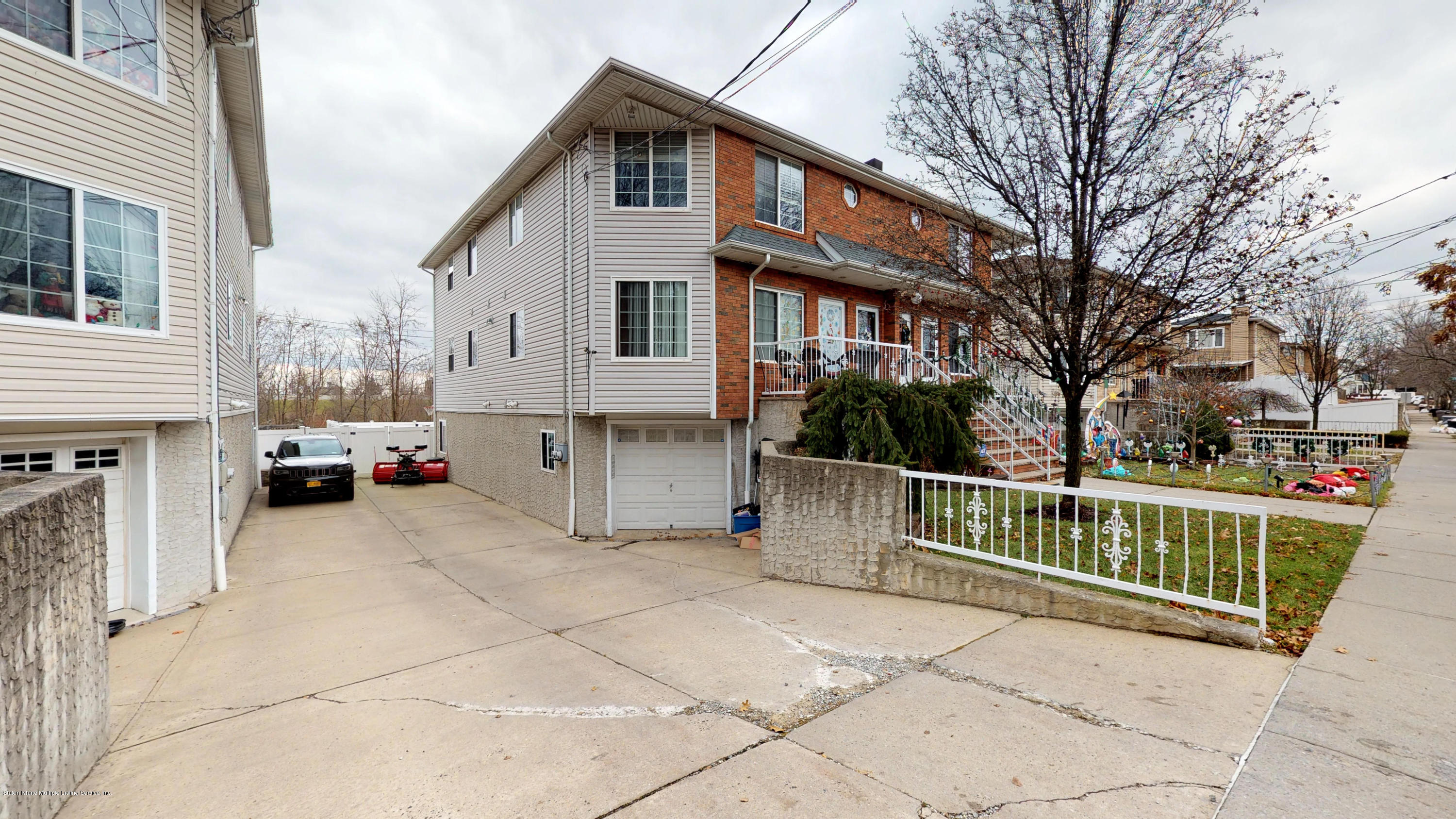 Two Family - Semi-Attached in Rossville - 123 Barry Street  Staten Island, NY 10309