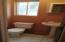 1/2 bath on 1st floor