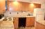 Ample kitchen space.
